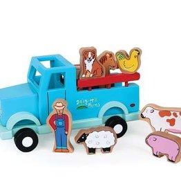 Jack Rabbit Creations Magnetic Farm Truck