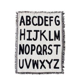 Calhoun & Co. Alphabet Mini Throw Blanket