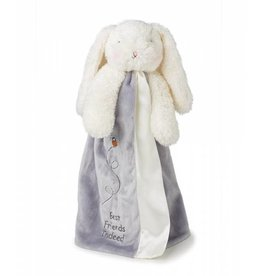 Bunnies By The Bay Bloom Bunny Buddy Blanket- Gray