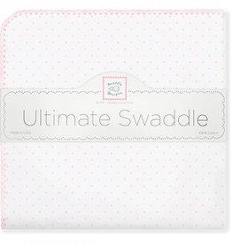 Swaddle Designs Ultimate Swaddle Blanket- Pastel Pink Polka Dots