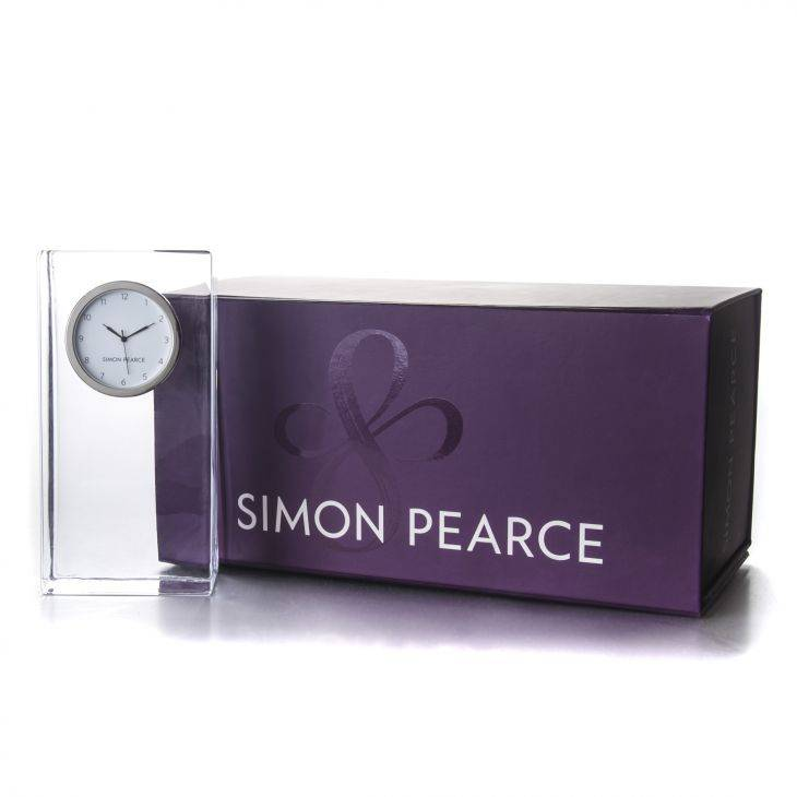Simon Pearce Woodbury Tall Clock In Gift Box