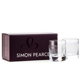Simon Pearce Ascutney Double Old Fashioned Glasses-Set of 2