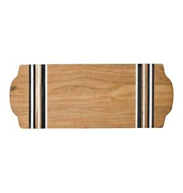 Juliska Stonewood Large Serving Board-Natural Stripe