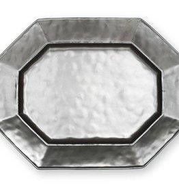 Juliska Pewter Octagonal Platter-Large