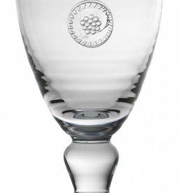 Juliska Berry & Thread Footed Goblet Glass