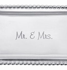 Mariposa Mr. & Mrs. Beaded Statement Tray
