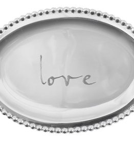 Mariposa Love Small Oval Tray