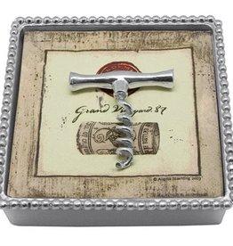 Mariposa Corkscrew Beaded Napkin Box