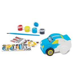 Melissa & Doug Race Car Bank- DYO