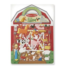 Melissa & Doug Puffy Sticker Play Set- Farm