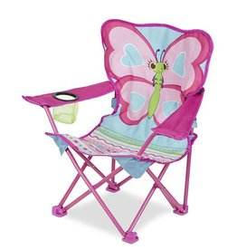 Melissa & Doug Cutie Pie Butterfly Campe Chair