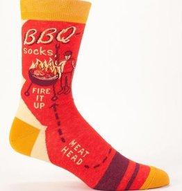 Blue Q Men's Socks- BBQ