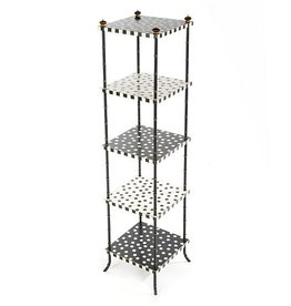 MacKenzie-Childs Dot Five Tier Table