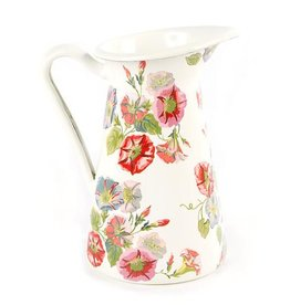 MacKenzie-Childs Morning Glory Practical Pitcher- Small