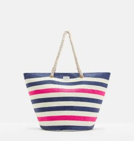 Joules Summer Bag- French Navy Stripe