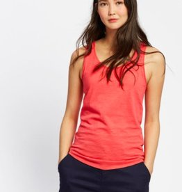 Joules Knit Tank Top Red Sky