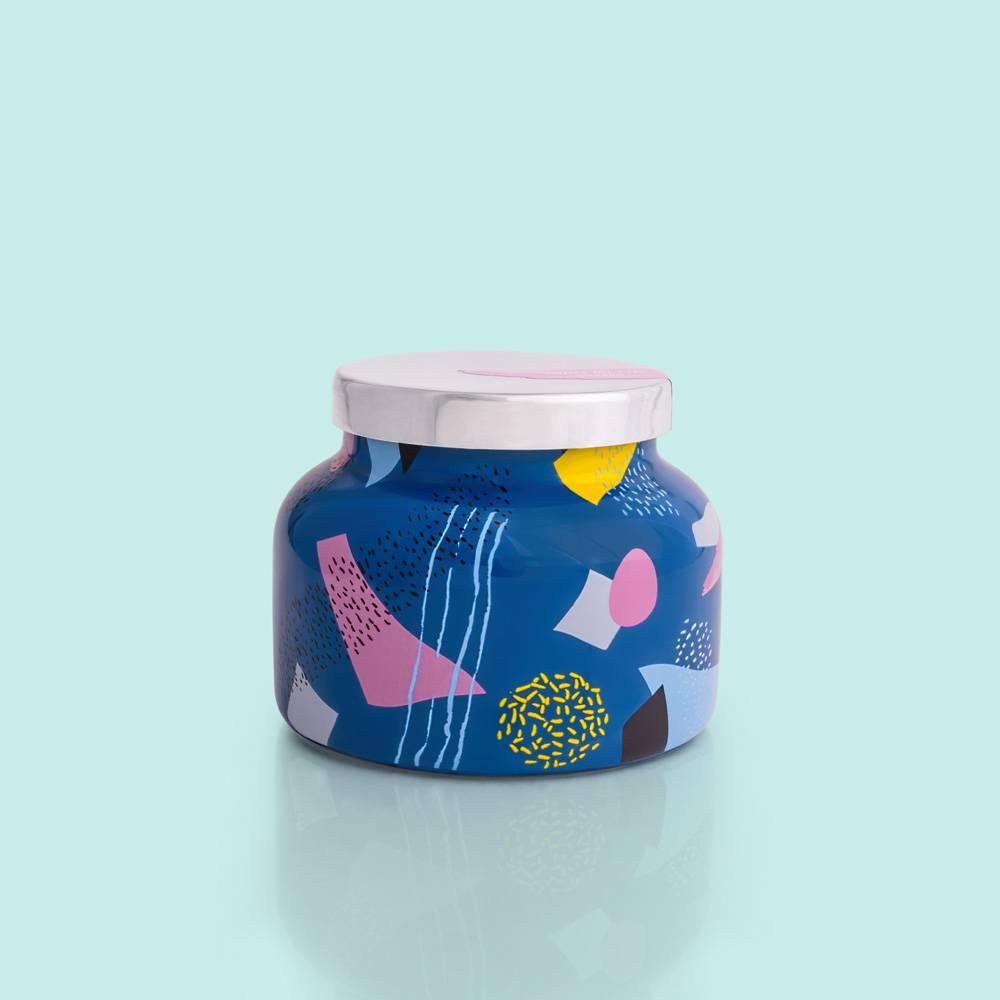 Capri Blue Volcano Gallery Ceramic Signature Jar