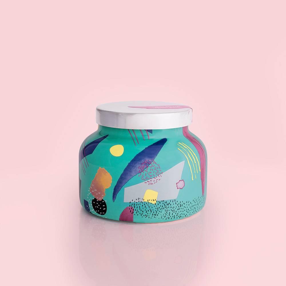 Capri Blue Coconut Santal Gallery Ceramic Signature Jar