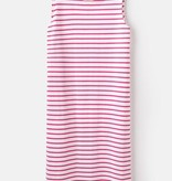 Joules Pink Stripe Tank Dress