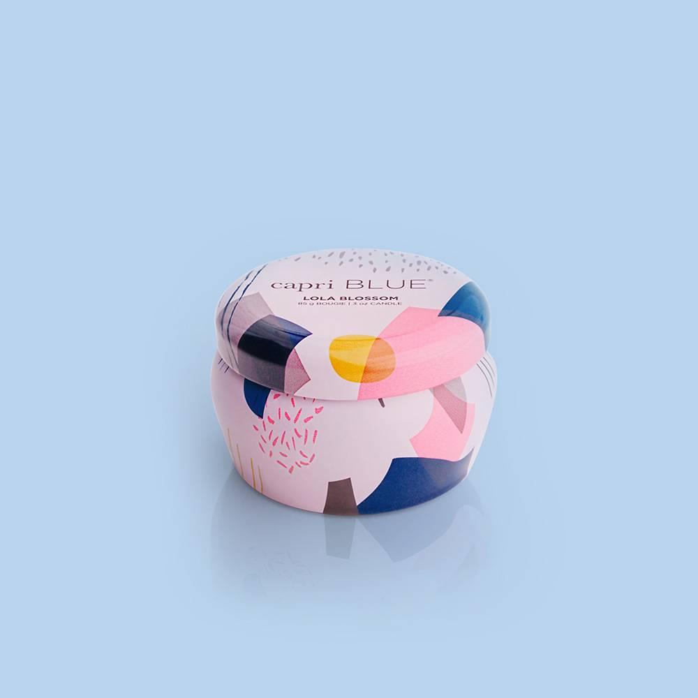 Capri Blue Lola Blossom Mini Tin Candle