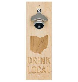 Say What Ohio Wood Bottle Opener