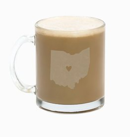 Say What Ohio Glass Mug Set
