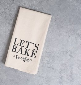 FR & Co Let's Bake Some Shit Tea Towel