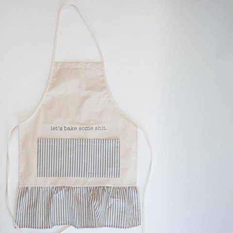 FR & Co Let's Bake Some Shit Apron