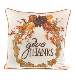 MacKenzie-Childs Give Thanks Pillow