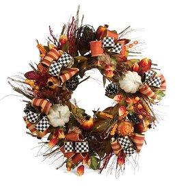 MacKenzie-Childs Harvest Wreath - Large