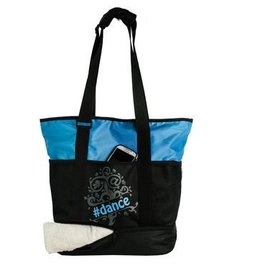 Horizon Horizon Tweet Tote Bag - Blue