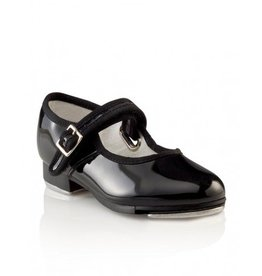 Capezio Capezio Mary Jane Patent Leather Tap Shoe - Toddler