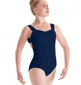 Motionwear Motionwear Pinch Front X-Back Wide Strap Leotard - Adult