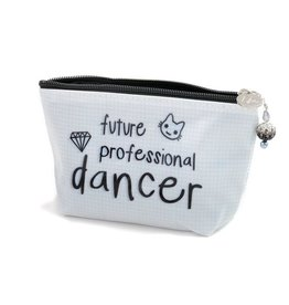 "B Plus Printworks B Plus Printworks Small Cosmetic Bag - ""Future Professional Dancer"""