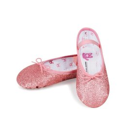 "Bloch/Mirella Bloch ""Glitterdust"" Full Sole Ballet Slipper-Toddler"