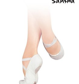 Sansha Sansha Adult Unisex Pro 1 Canvas - White