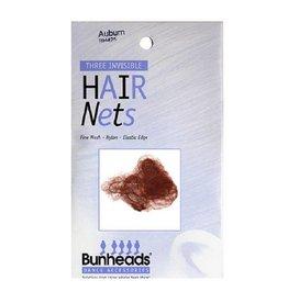 Capezio Bumheads Hair Nets - Auburn
