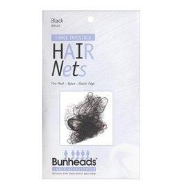 Capezio Bunheads Hair Nets - Black