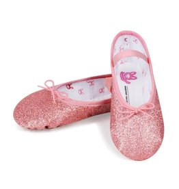 "Bloch/Mirella Bloch ""Glitterdust"" Full Sole Ballet Slipper- Child"