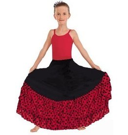 Eurotard Eurotard Flamenco Skirt w/ Dotted Ruffle - Child