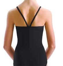 Motionwear Motionwear Camisole Leotard with V-Back Straps - Adult