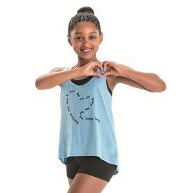 Motionwear Motionwear Ballet Terms Heart Tank
