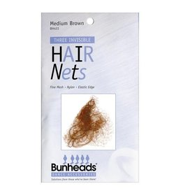 Capezio Bunheads Hair Net - Medium Brown