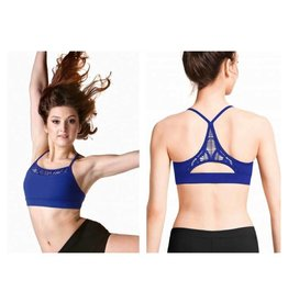 Bloch/Mirella Bloch Racer Crop Top - Adult