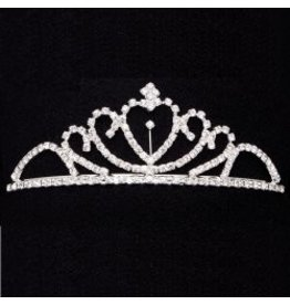 DASHA Dasha Solitaire Heart Tiara