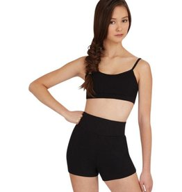 Capezio Capezio  High Waisted Shorts - Adult