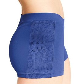 Bloch/Mirella Bloch Lace Panel Shorts