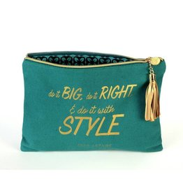 B Plus Printworks B Plus Printworks Canvas Cosmetic Bag - Fred Astaire