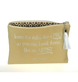 B Plus Printworks B Plus Printworks Canvas Cosmetic Bag - Pablo Picasso