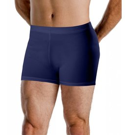 Motionwear Motionwear Men's Elastic-Waist Bike Shorts